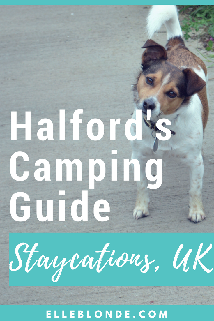 Halfords Camping Guide of Staycations in the UK | Travel Guide | Elle Blonde Luxury Lifestyle Destination Blog