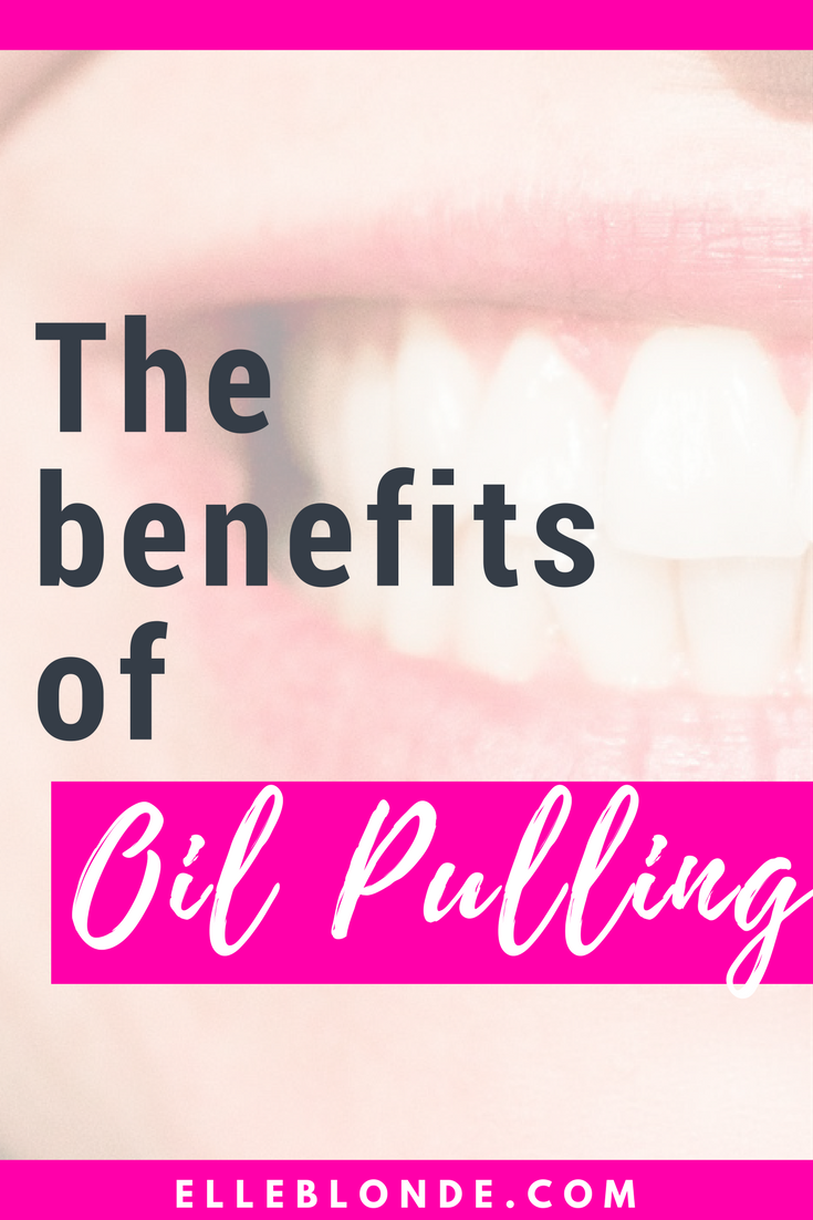 Oil Pulling with Ohshun White. Why you REALLY should try it! 1