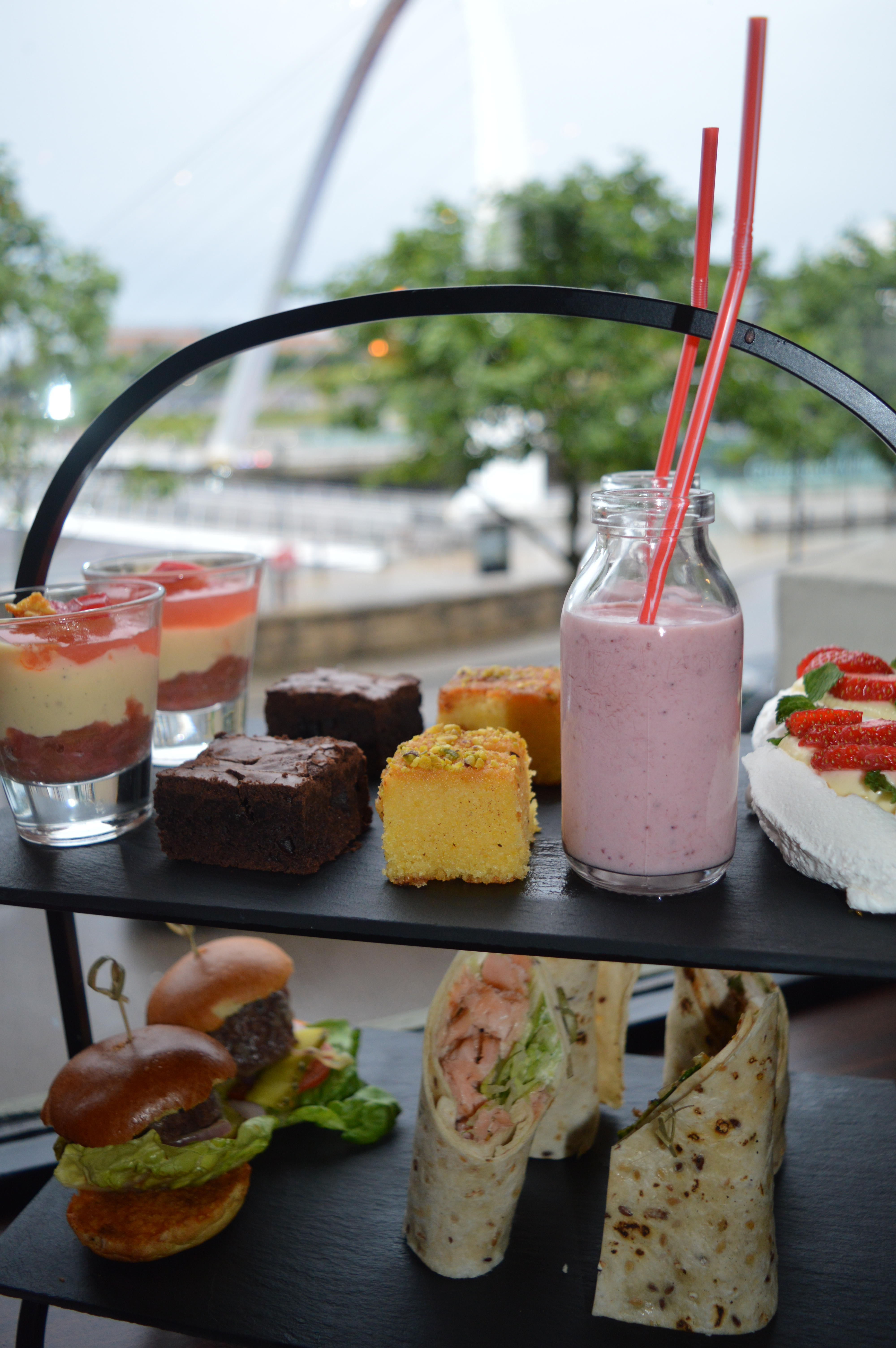 Afternoon Tea at The Malmaison Newcastle Quayside | Where to eat in Newcastle Food Reviews & Guide | Elle Blonde Luxury Lifestyle Destination Blog