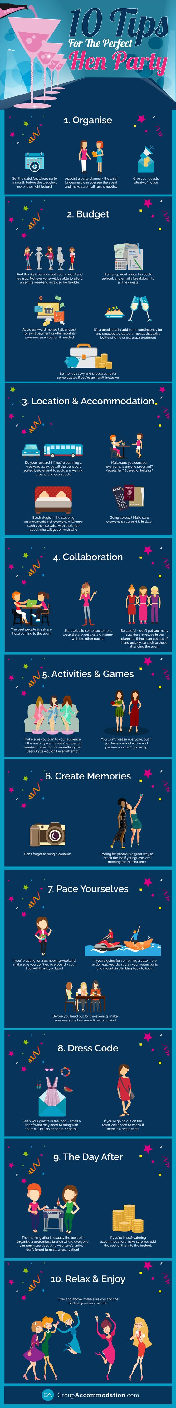 10 Tips For The Perfect Hen Party 1