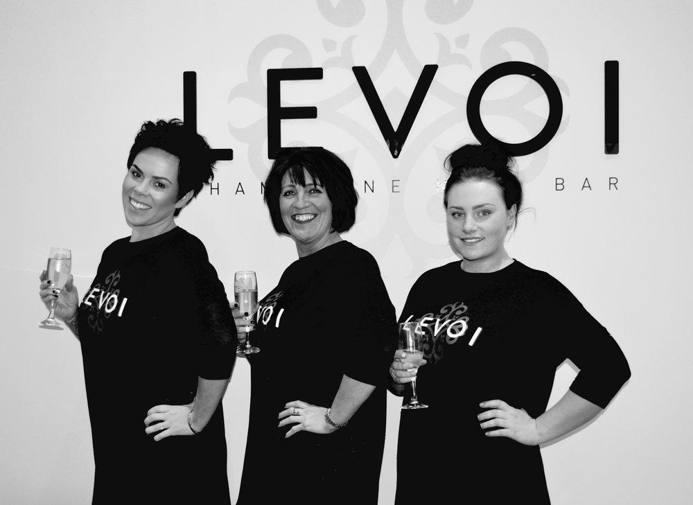 ELLEfluence Blogger Event: Levoi Champagne Nail Bar, Newcastle 6