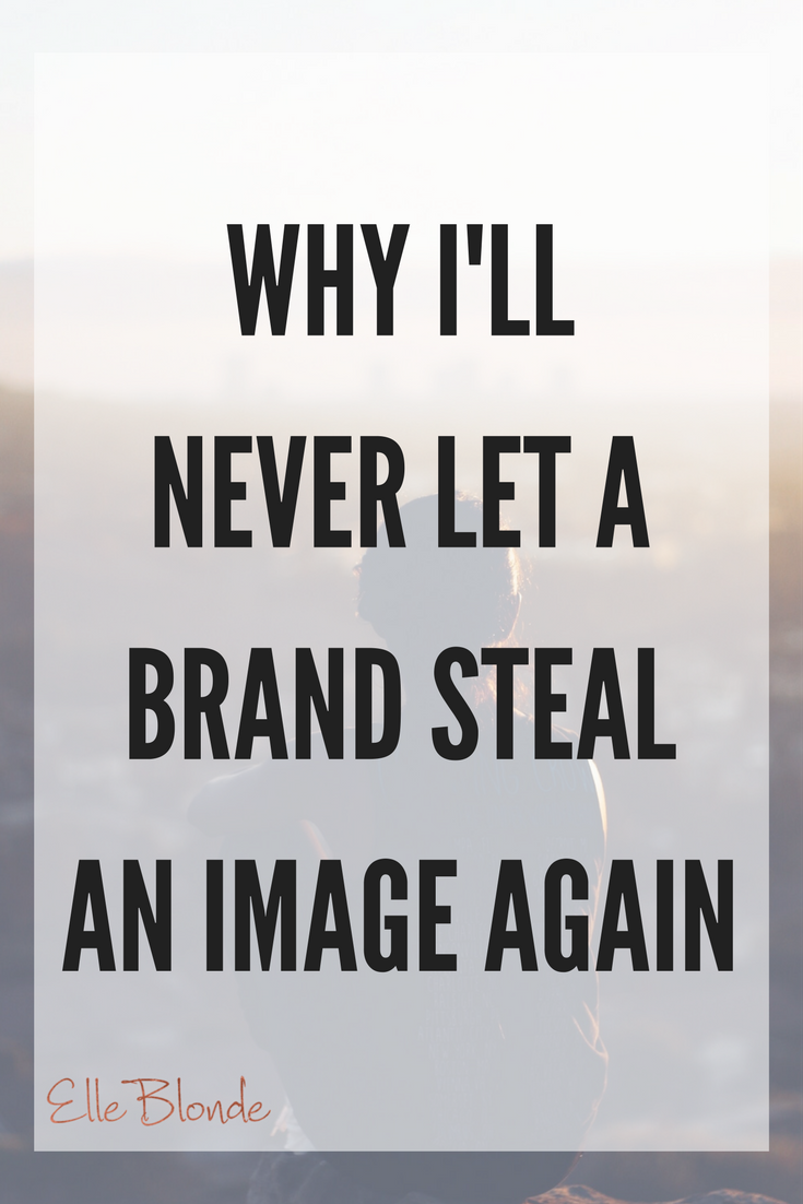 Blogger & Influencer Guidance: Why I won't let brands steal my images.... 1