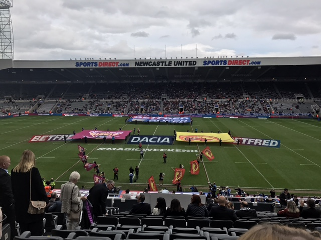 Dacia Magic Weekend | Rugby League's Weekend St James' Park | Newcastle Guide | Elle Blonde Luxury Lifestyle Destination Blog
