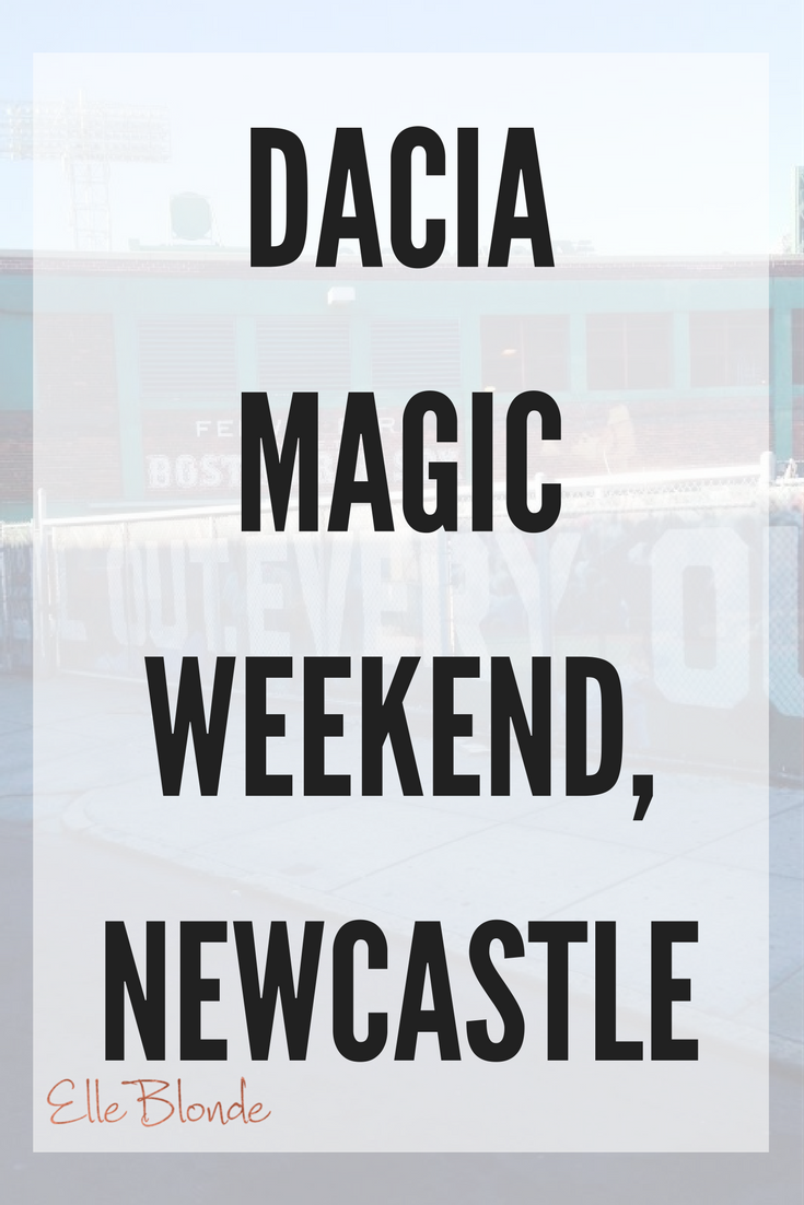 A Geordie's Travel Guide to Newcastle: Dacia Magic Weekend Special 14