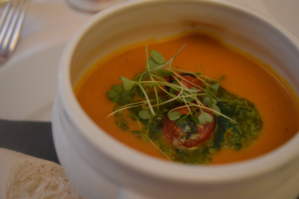 slow-roasted-tomato-soup-paul-amer-menu-marco-pierre-white-mpw-hotel-indigo-steakhouse-newcastle-menu-launch-elle-blonde-luxury-lifestyle-blog