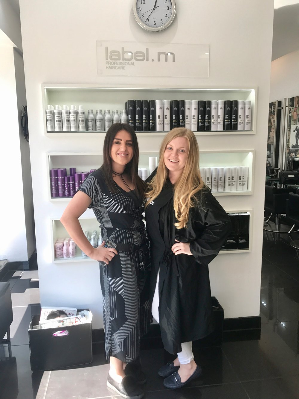 London fashion Week Hairstyling Brand Toni & Guy are experts in the hair industry, find out how I got on when I went to their Newcastle branch   Beauty Blogger   Elle Blonde Luxury Lifestyle Destination Blog