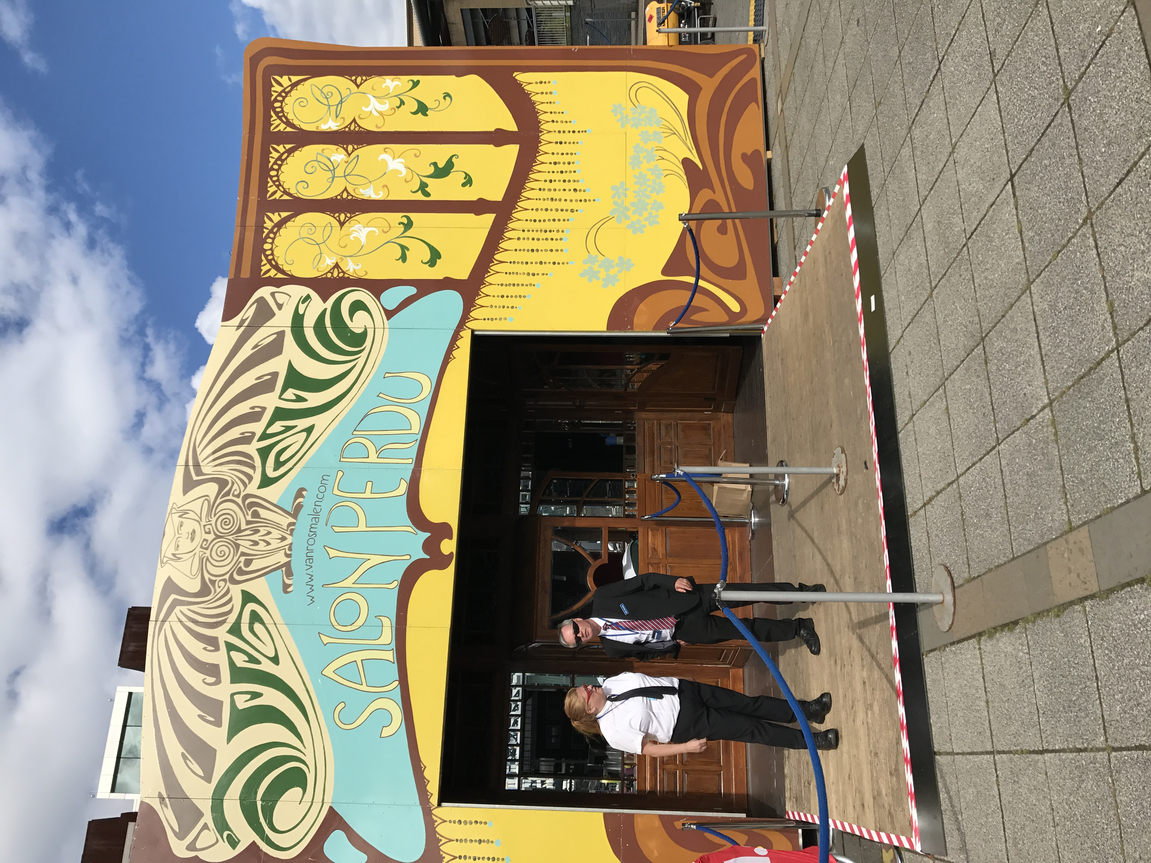 Blogging at the Spiegeltent. Meet me there 2