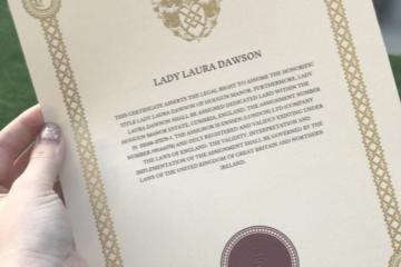 Ladyship Titles - Gifts for Chief Bridesmaids