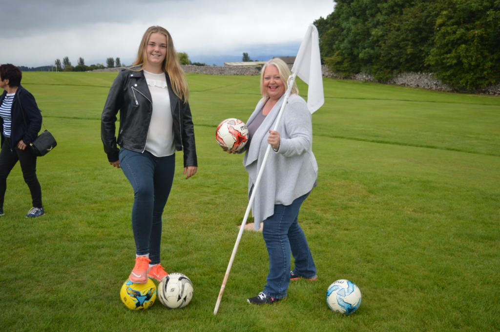 girls-with-football-put2golf-penrith-golf-football-stag-party-lake-district-elle-blonde-luxury-lifestyle-destination-blog