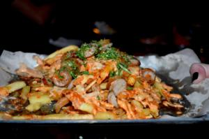 Doo Hot Fries | Hot Dog Chips | Meat:Stack | Newcastle Best Burgers Dirty | Elle Blonde Luxury Lifestyle Destination Blog