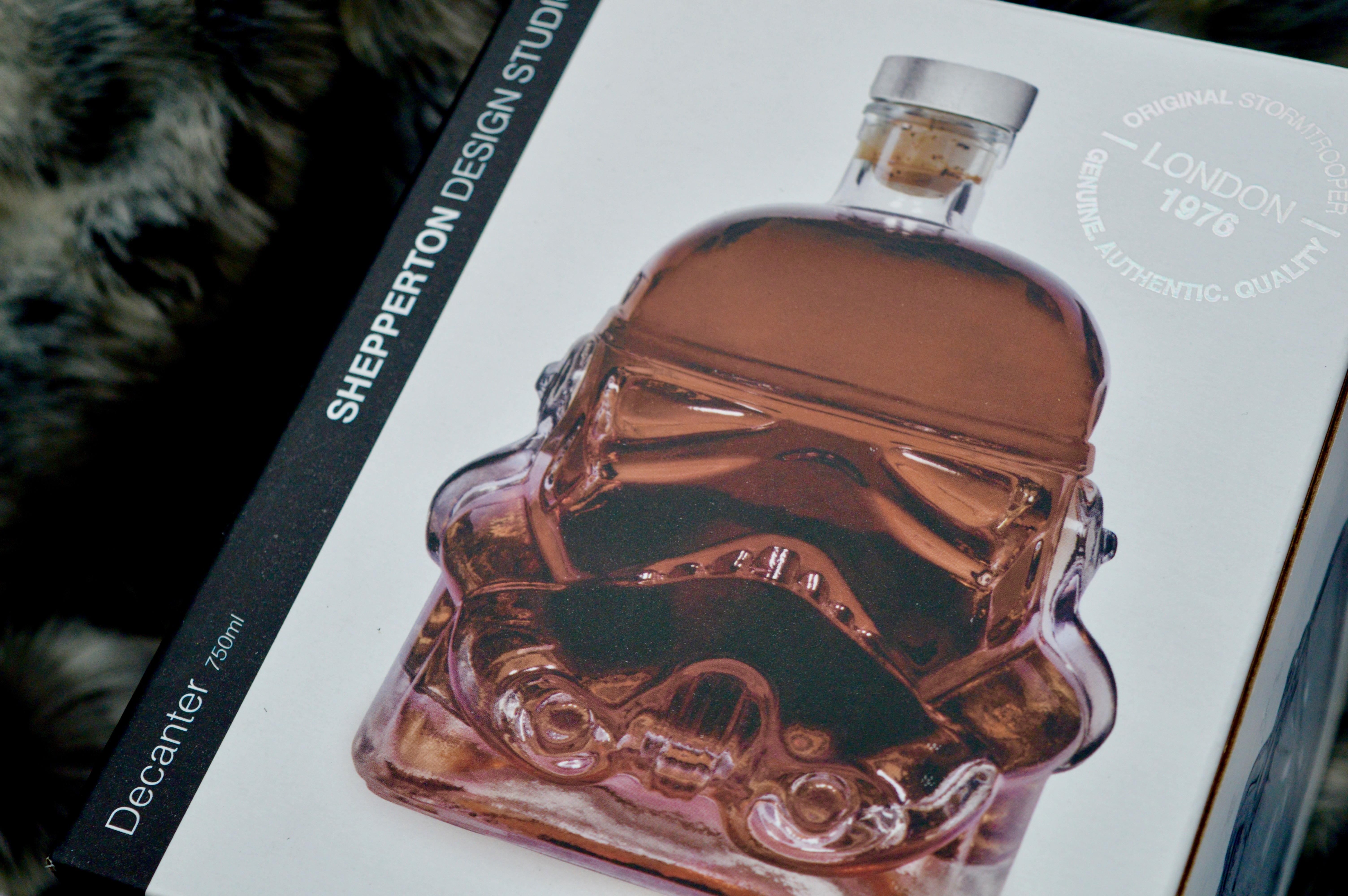 Star Wars Storm Trooper Decanter | What to buy the man who has everything | Man Cave | Elle Blonde Luxury Lifestyle Destination Blog
