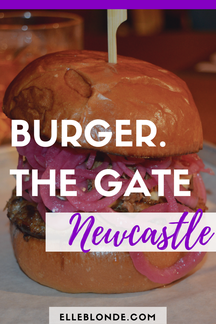 Classic B Burger from Burger, located in The Gate Food & Bar Complex, Newcastle City Centre | Check out our thoughts and review | Elle Blonde Luxury Lifestyle Destination Blog
