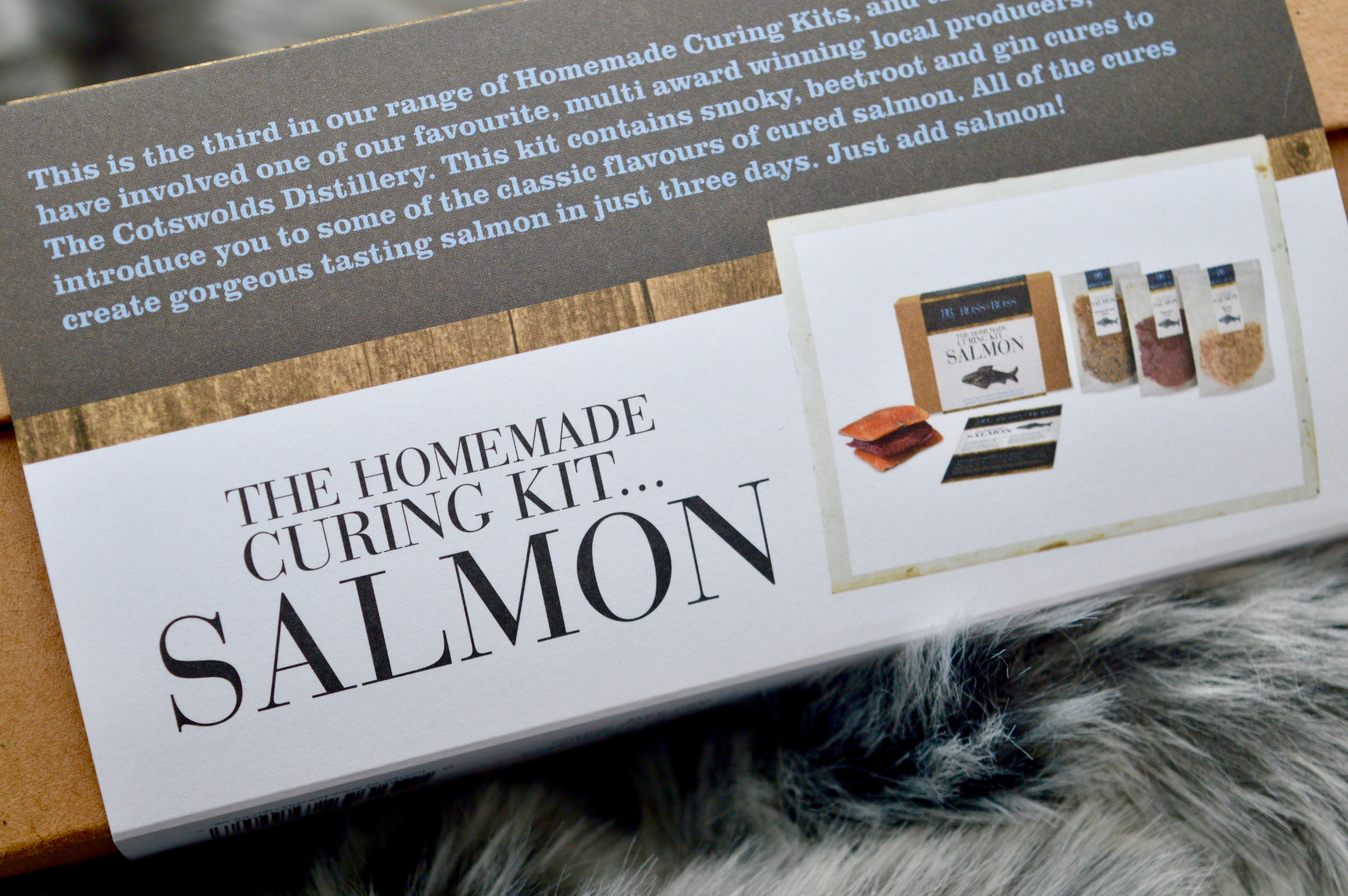 Salmon Curing Kit | Cooking Gifts | Food Lovers | Christmas Gift Guide - What to buy your Grandma | Elle Blonde Luxury Lifestyle Destination Blog