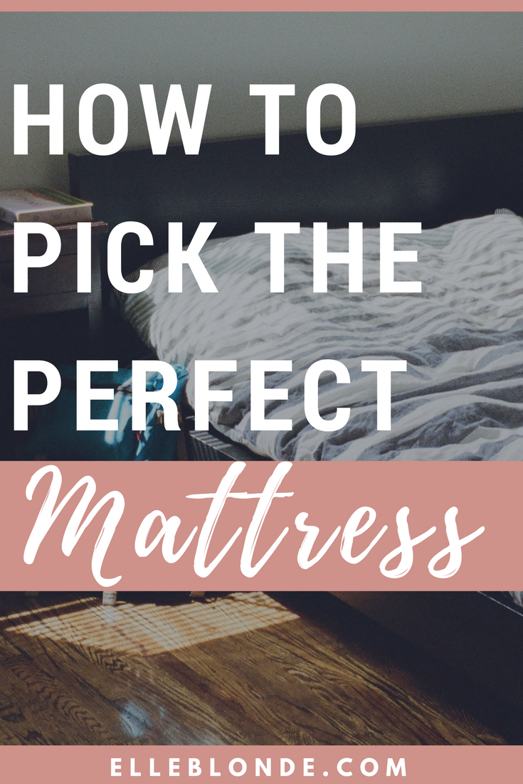 How to pick the perfect mattress for your bed | Home Interiors | Elle Blonde Luxury Lifestyle Destination Blog