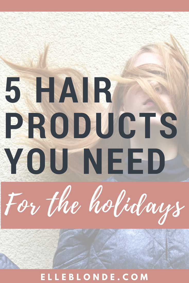 5 Hair Products To Invest In For The Festive Season