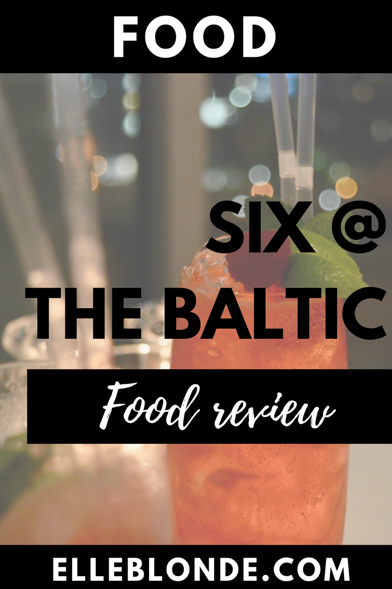 Six at The Baltic Gateshead | Views of Newcastle | Food & Drink Review | Dining Out Recommendations | Elle Blonde Luxury Lifestyle Destination Blog