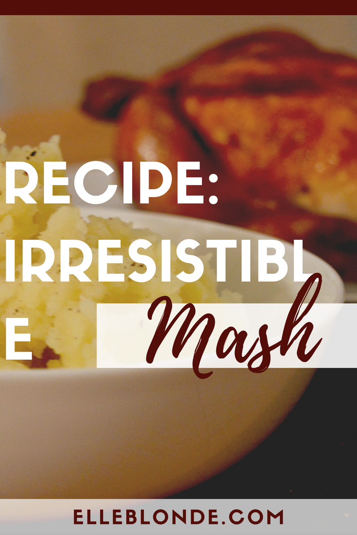 Recipe - delicious mashed potato | Co-op Irresistible Mashing Potatoes | Elle Blonde Luxury Lifestyle Destination Blog