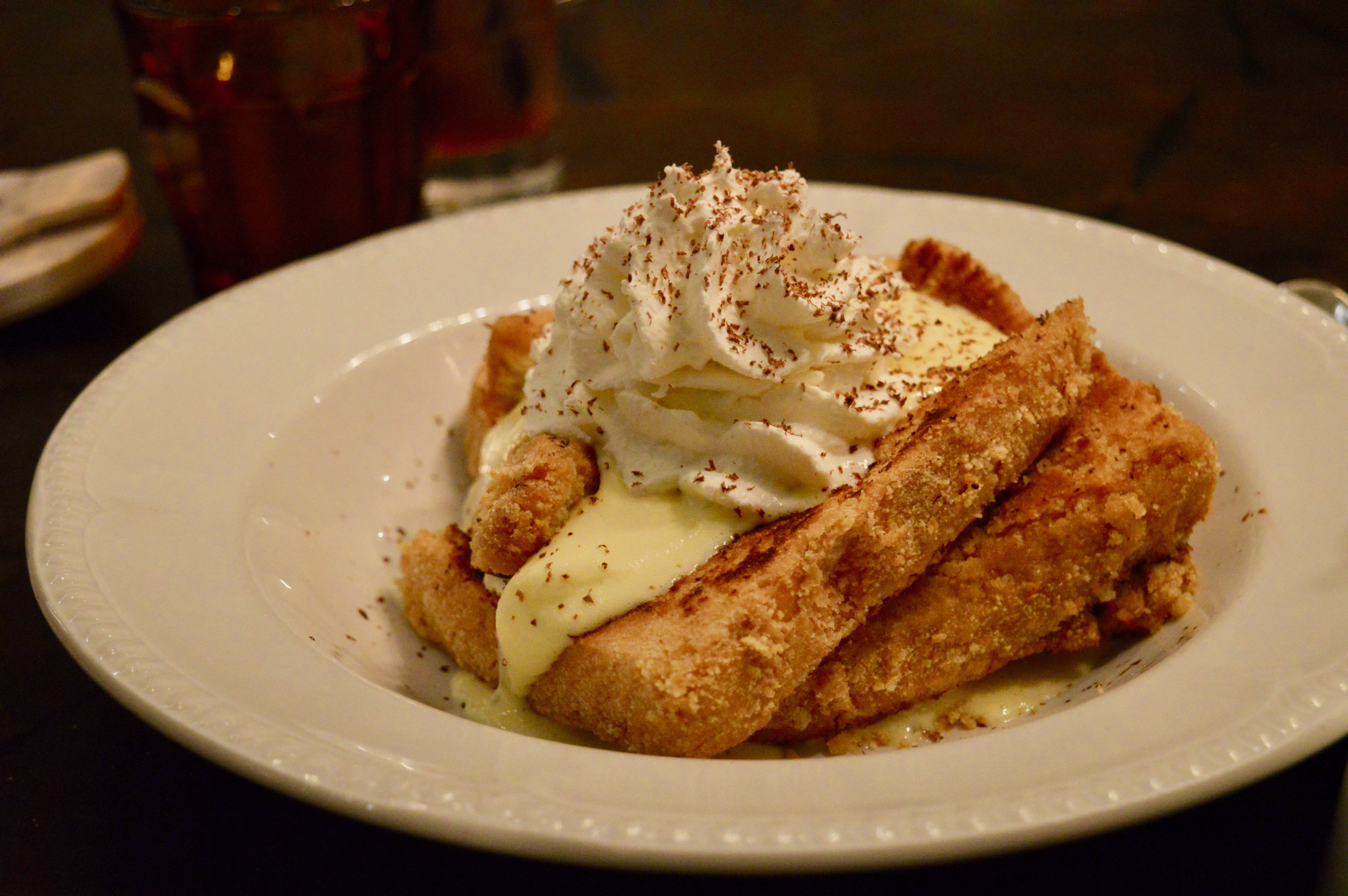 Ladyfinger French Toast | Mercato Della Pescheria PostTurkey Day Thanksgiving Brunch | Italian dining served family style with the Las Vegas Influencers | The Venetian Las Vegas | Elle Blonde Luxury Lifestyle Destination Blog