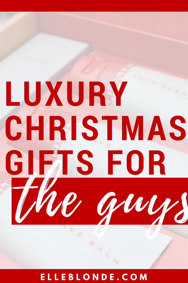 What to buy the men in your life | Luxury gift guide | Elle Blonde Luxury Lifestyle Destination Blog