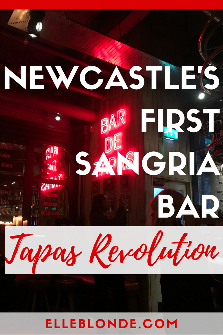 Tapas Revolution New Bar Opening | Elle Blonde Luxury Lifestyle Destination Blog