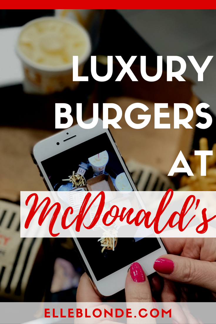 McDonald's Signature Burger Collection in collaboration with Julien Macdonald | Black carpet launch | Elle Blonde Luxury Lifestyle Destination Blog