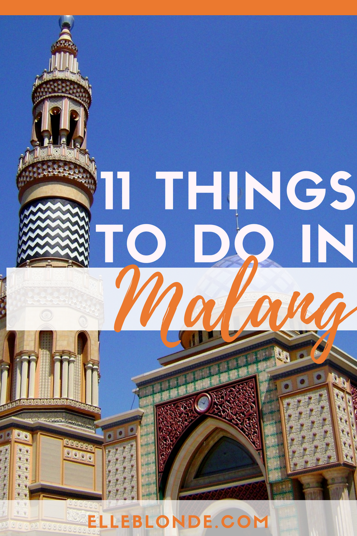 11 places to go when in Malanga Indonesia | Travel to-do list | Elle Blonde Luxury Lifestyle Destination Blog