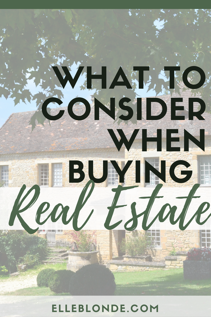 Tips for buying real estate overseas, what you need to know for purchasing property in a different country | Investments | Elle Blonde Luxury Lifestyle Destination Blog