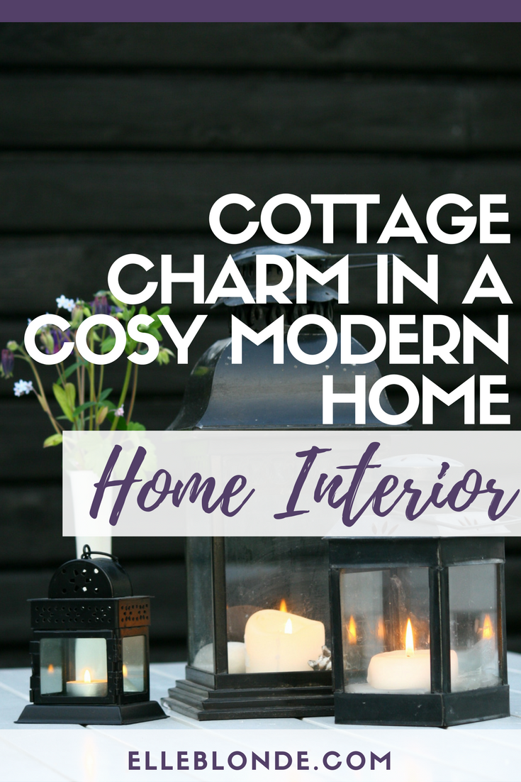 A new build home is great but does it have the alluring charm of a country cottage, we find out how we can make a cottage a home in our interior inspo post | Elle Blonde Luxury Lifestyle Destination Blog