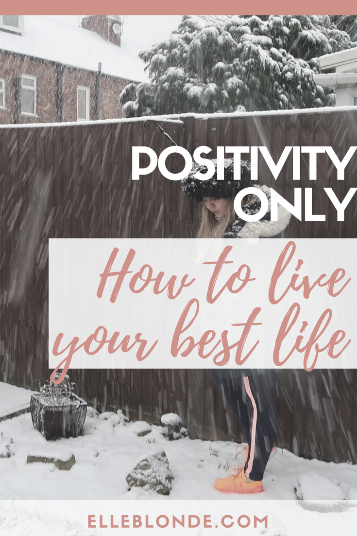 Positivity is a mindset, we discover how being positive is great for success in business and what you can do to be a little more positive in every day life | Positivity Quotes | Elle Blonde Luxury Lifestyle Destination Blog