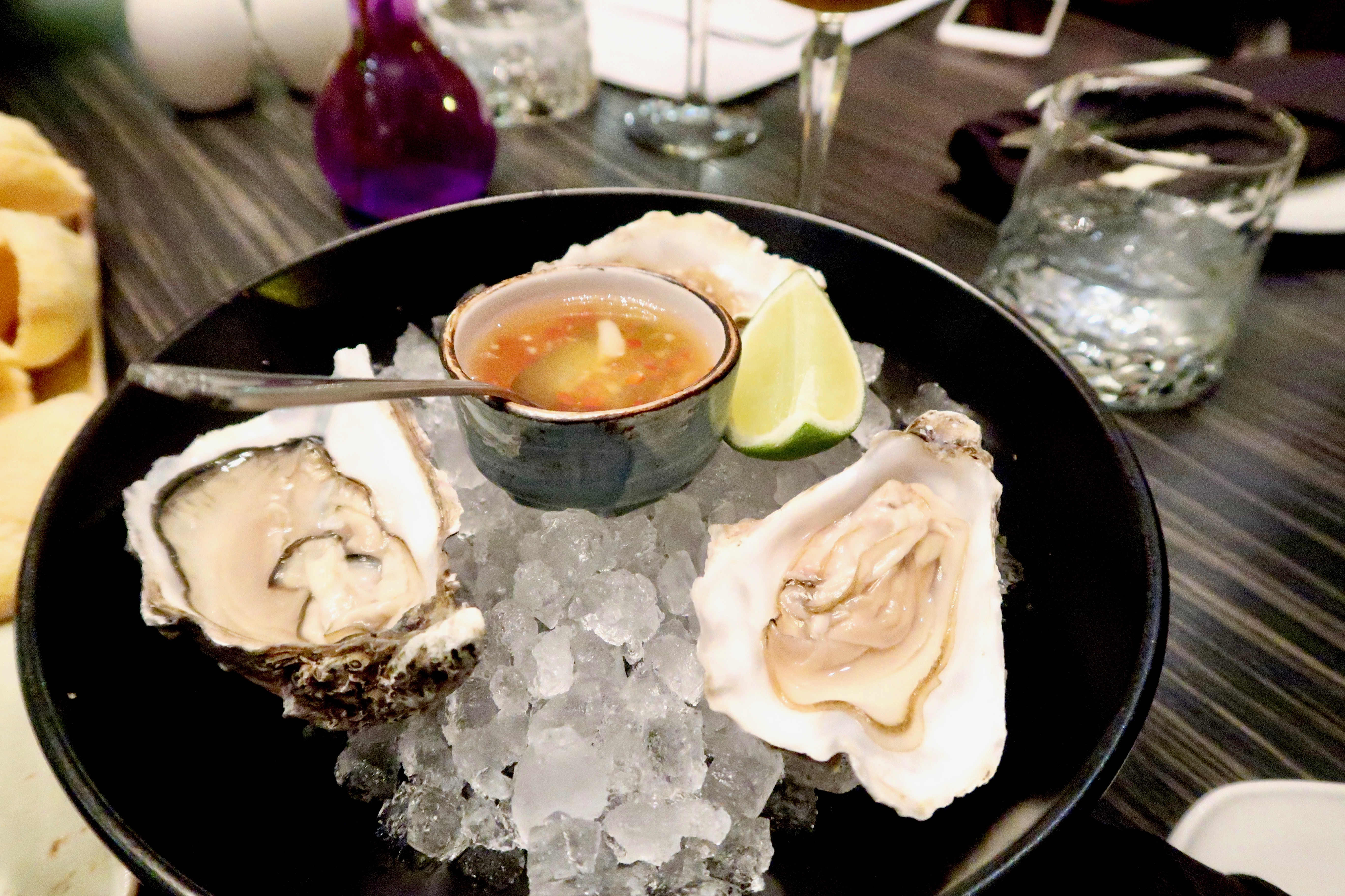 Oysters | SoHe Jesmond | Asian Fusion Dining in Newcastle | Where to eat... | Food & Drink Review | Elle Blonde Luxury Lifestyle Destination Blog