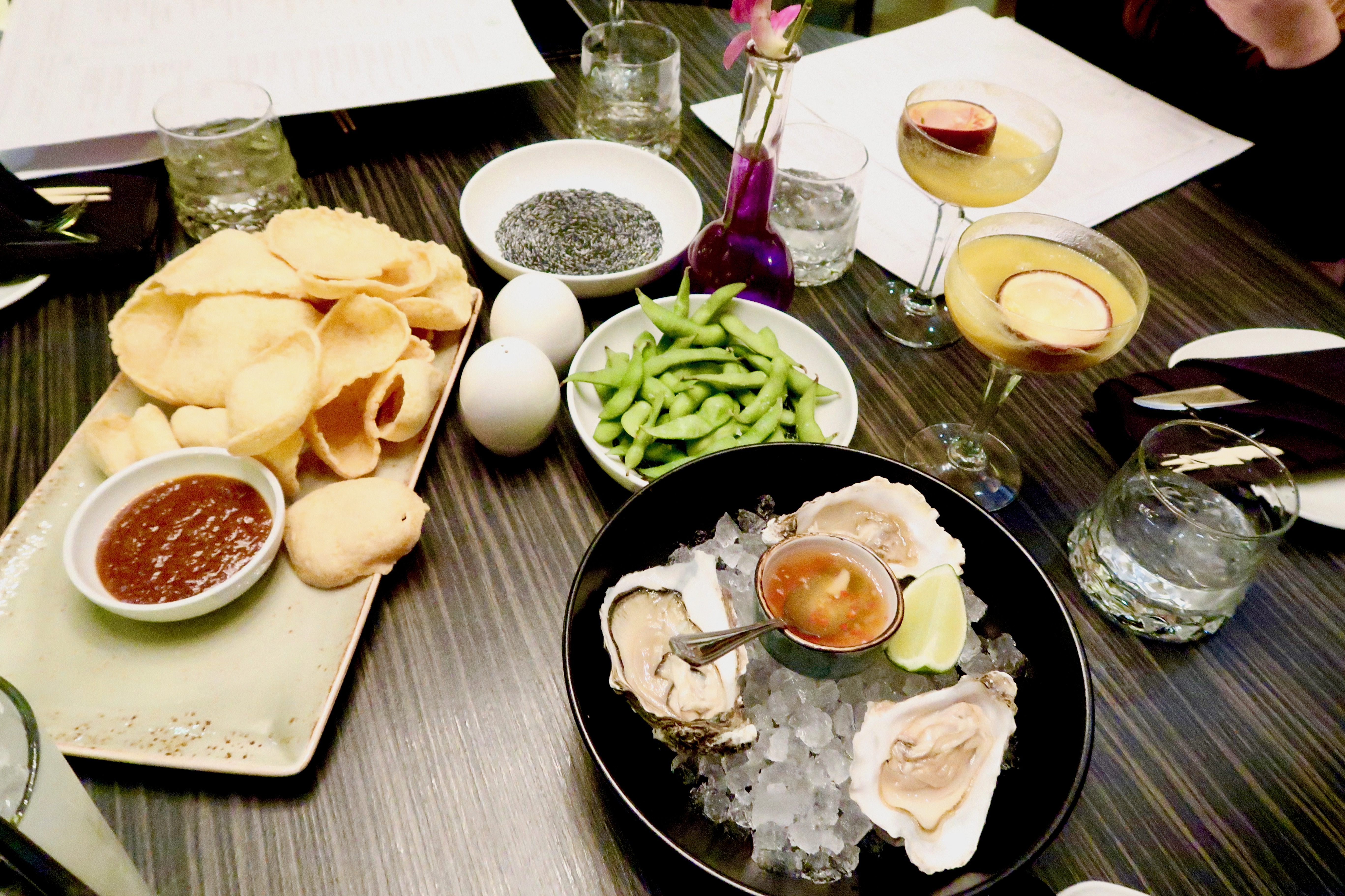 Oysters, Edamame Beans, Crackers | SoHe Jesmond | Asian Fusion Dining in Newcastle | Where to eat... | Food & Drink Review | Elle Blonde Luxury Lifestyle Destination Blog