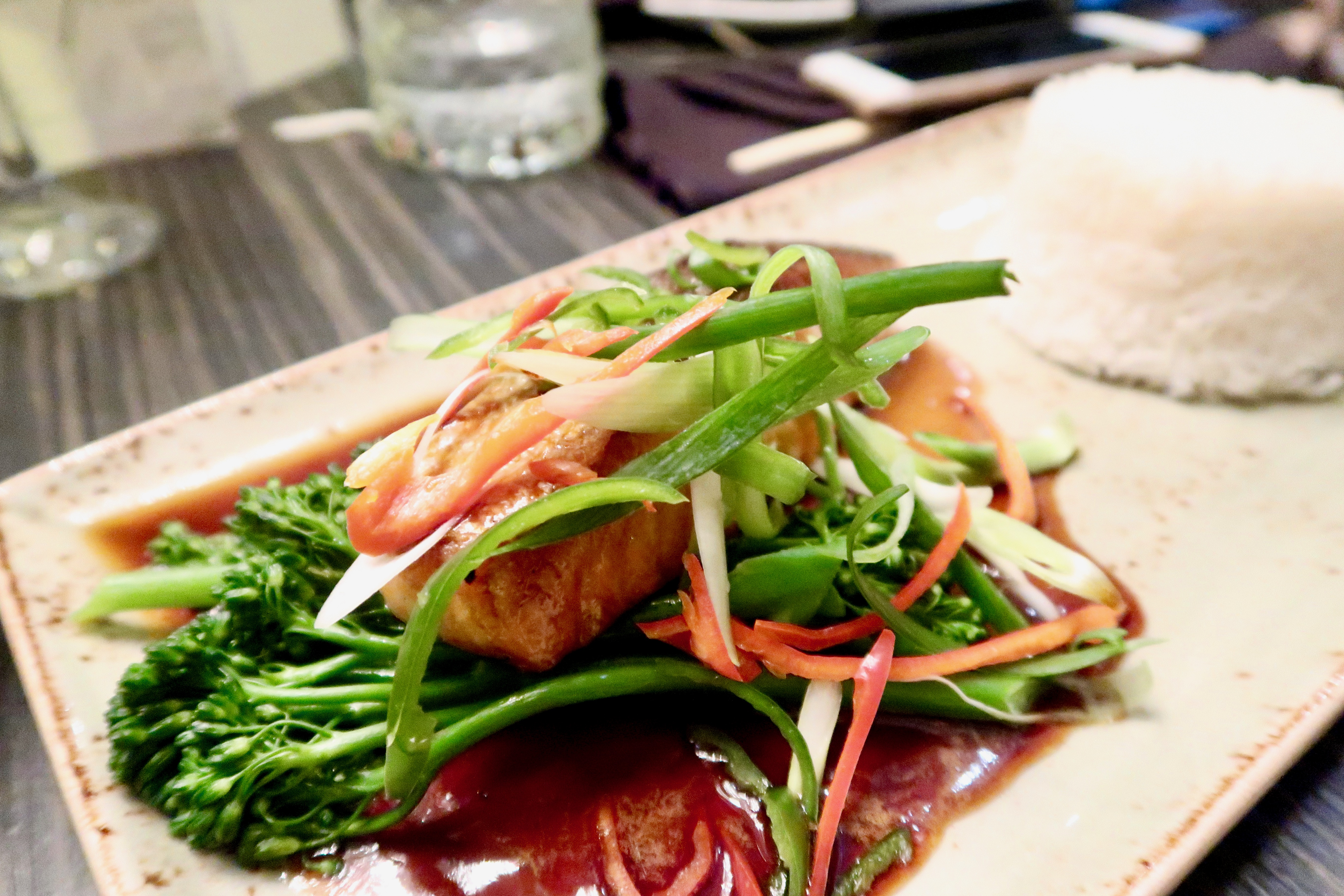 Salmon | SoHe Jesmond | Asian Fusion Dining in Newcastle | Where to eat... | Food & Drink Review | Elle Blonde Luxury Lifestyle Destination Blog