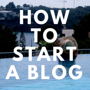 How to set up and start a Wordpress blog free email course | Elle Blonde Luxury Lifestyle Destination Blog & Coach