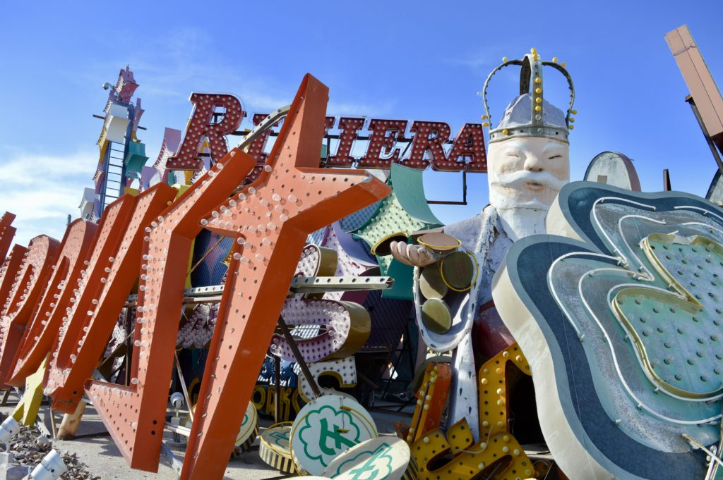 The Riviera | The Neon Boneyard Museum | Las Vegas | What should I do in Las Vegas? | Travel tips for Las Vegas Nevada | Travel Blog | Elle Blonde Luxury Lifestyle Destination Blog