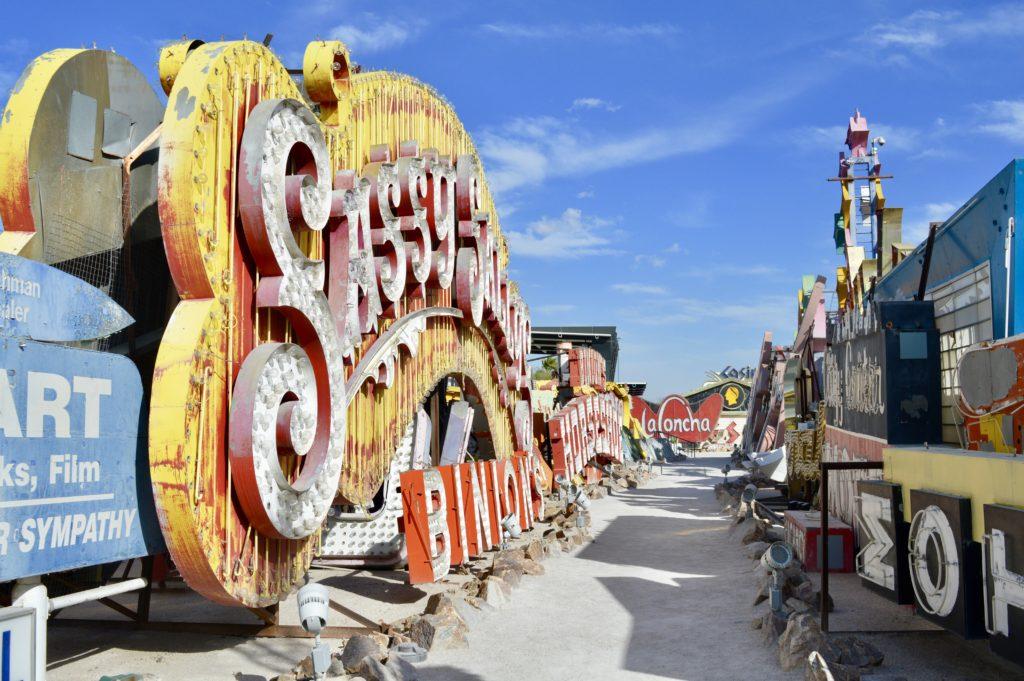Sassy Sally's   The Neon Boneyard Museum   Las Vegas   What should I do in Las Vegas?   Travel tips for Las Vegas Nevada   Travel Blog   Elle Blonde Luxury Lifestyle Destination Blog
