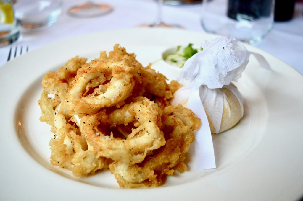 Wheeler's Calamari | Where to eat in Newcastle: Marco Pierre White Steakhouse in Hotel Indigo | Food & Lifestyle Reviews | Summer 2018 Menu Launch | Elle Blonde Luxury Lifestyle Destination