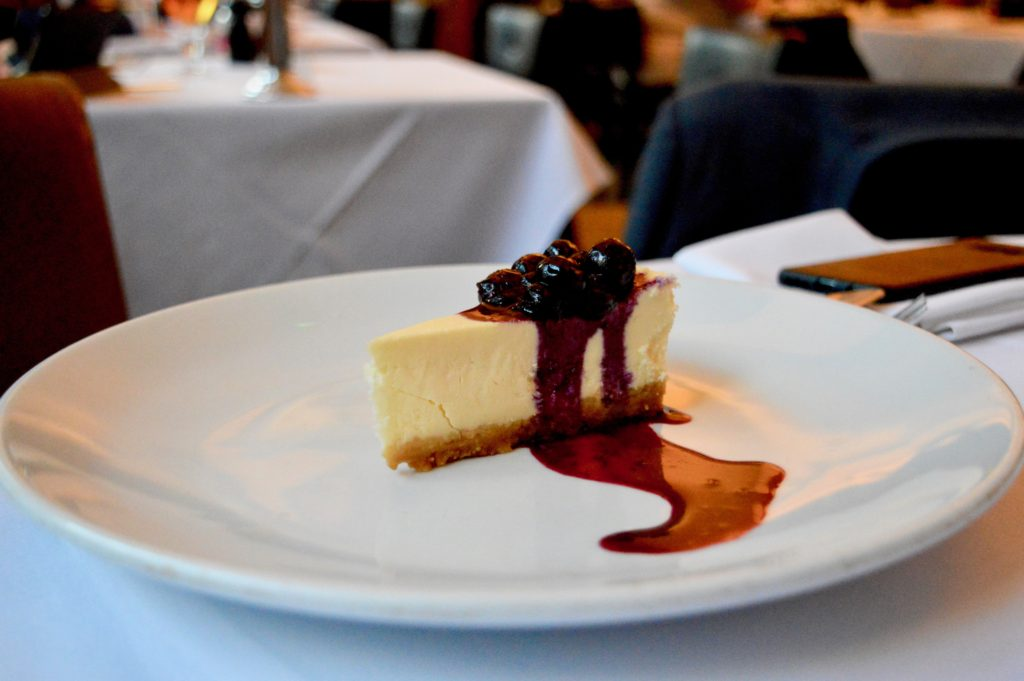 Cheesecake | Where to eat in Newcastle: Marco Pierre White Steakhouse in Hotel Indigo | Food & Lifestyle Reviews | Summer 2018 Menu Launch | Elle Blonde Luxury Lifestyle Destination