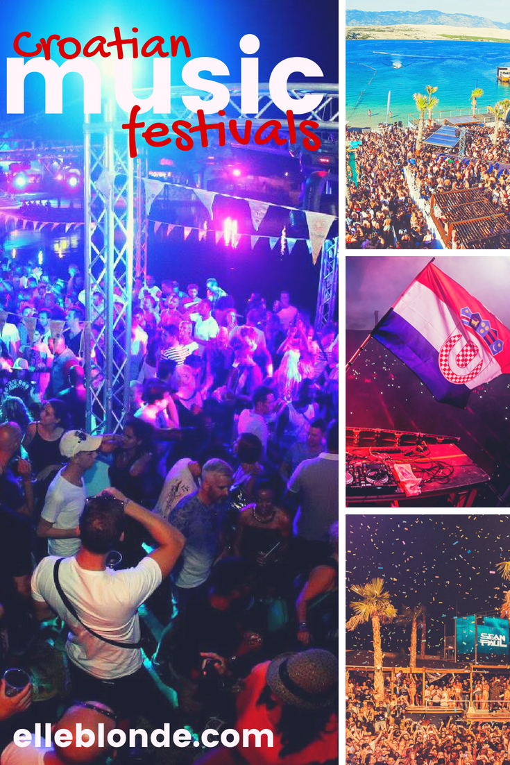 Looking for a little Travel Inspo of where to visit this Summer? Love of a music festival? Why not head over to Croatia and explore the culture as well as the vibrant music scene. With our top festivals Croatia you'll not miss out on the best music in this country   Elle Blonde Luxury Lifestyle Destination Blog