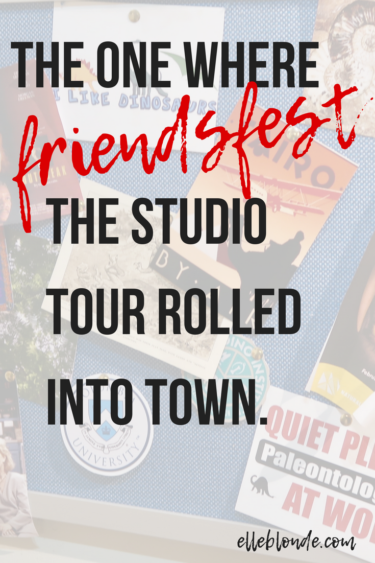 Friends Fest | On Set Tour of behind the scenes of Friends the TV show | Theatre, Festivals & Events | Elle Blonde Luxury Lifestyle Destination Blog