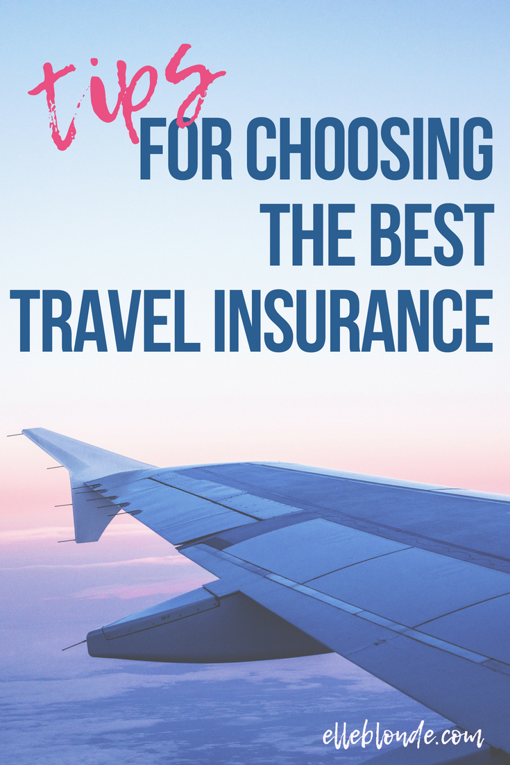 Travel Insurance, what you need to know about buying an insurance policy for going on holiday or vacation | Travel Tips & Guide | Elle Blonde Luxury Lifestyle Destination Blog