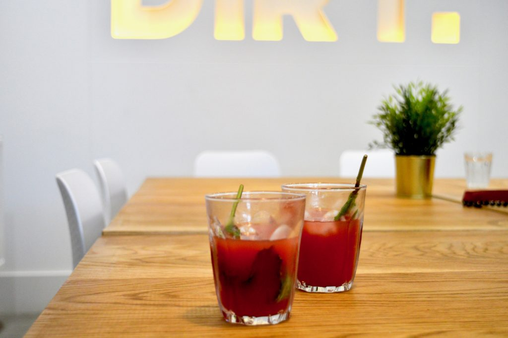 Watermelon Juice | Dirt Health Food Review | Clean eating in Newcastle for vegetarians, vegans, gluten free | Sustainable dining with local produce | Elle Blonde Luxury Lifestyle Destination Blog