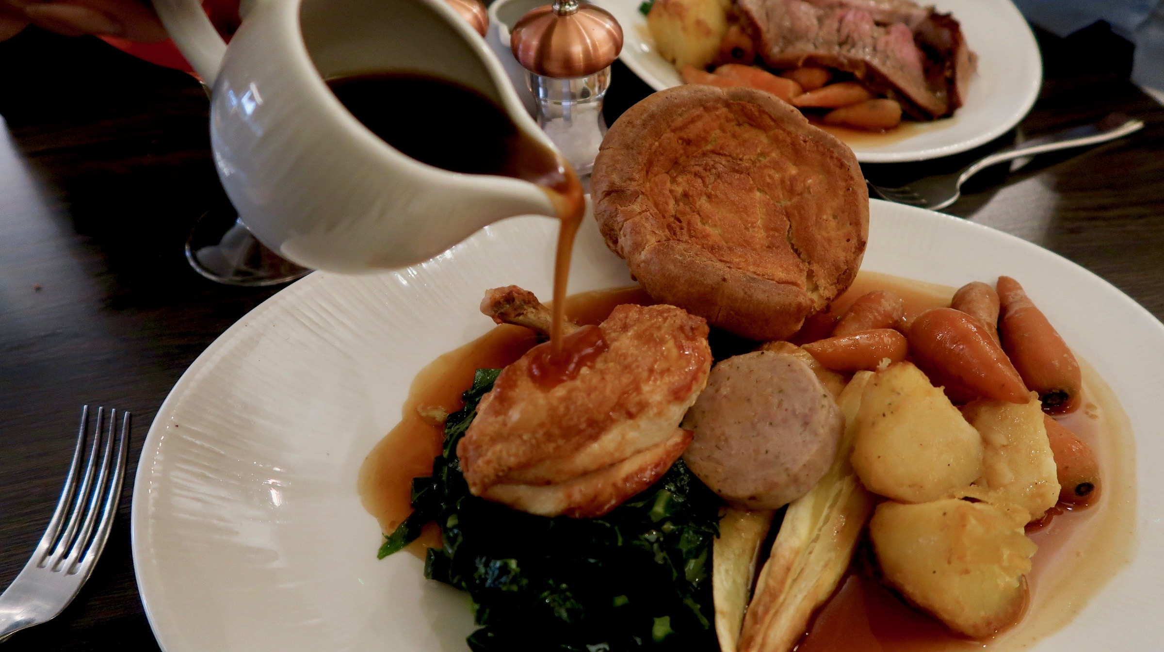 Chicken Sunday Dinner | Eating in Newcastle | The Hudson at The County | Food & Drink Review | Elle Blonde Luxury Lifestyle Destination Blog