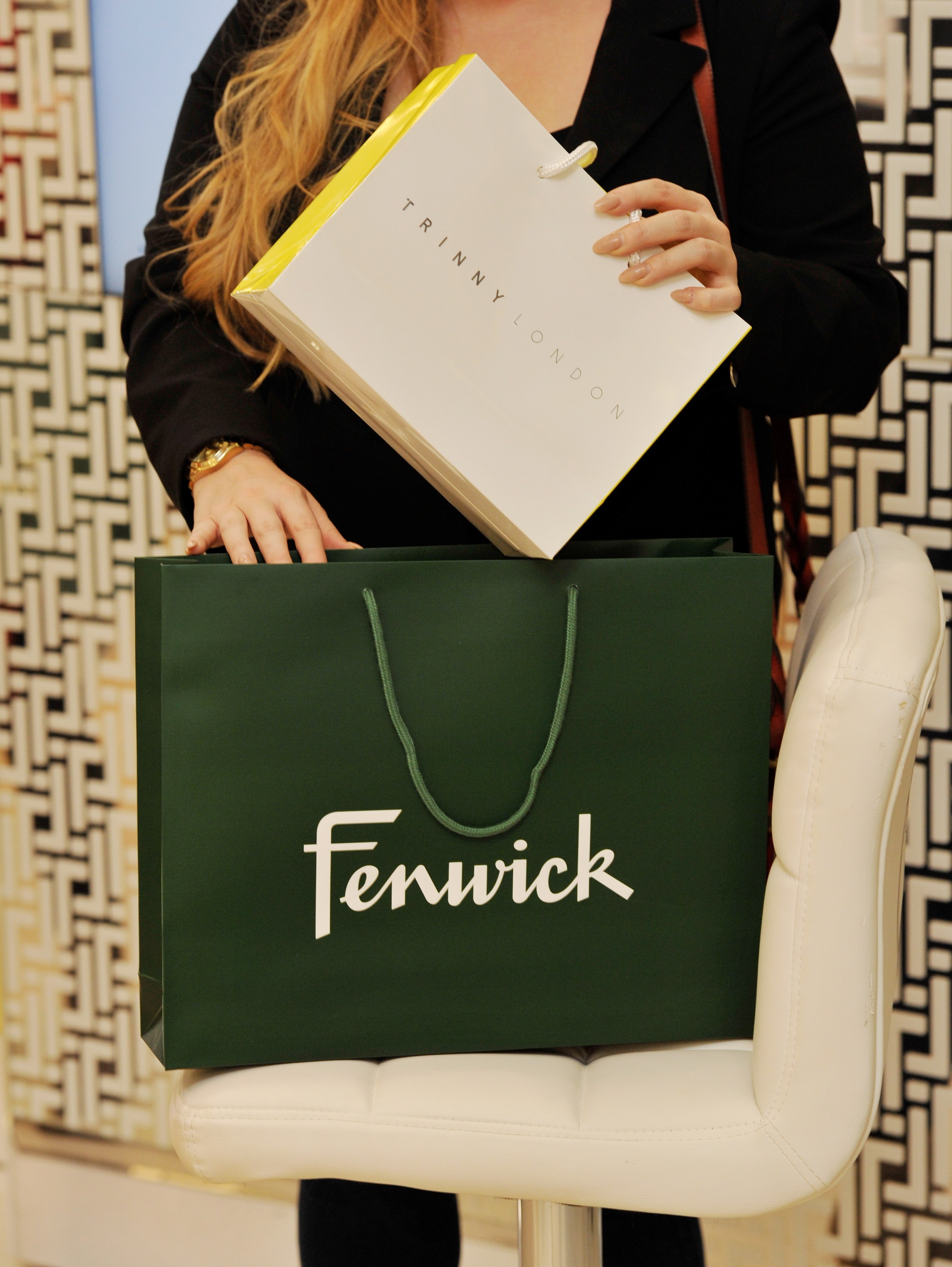 Trinny London launches in Fenwick Newcastle 5