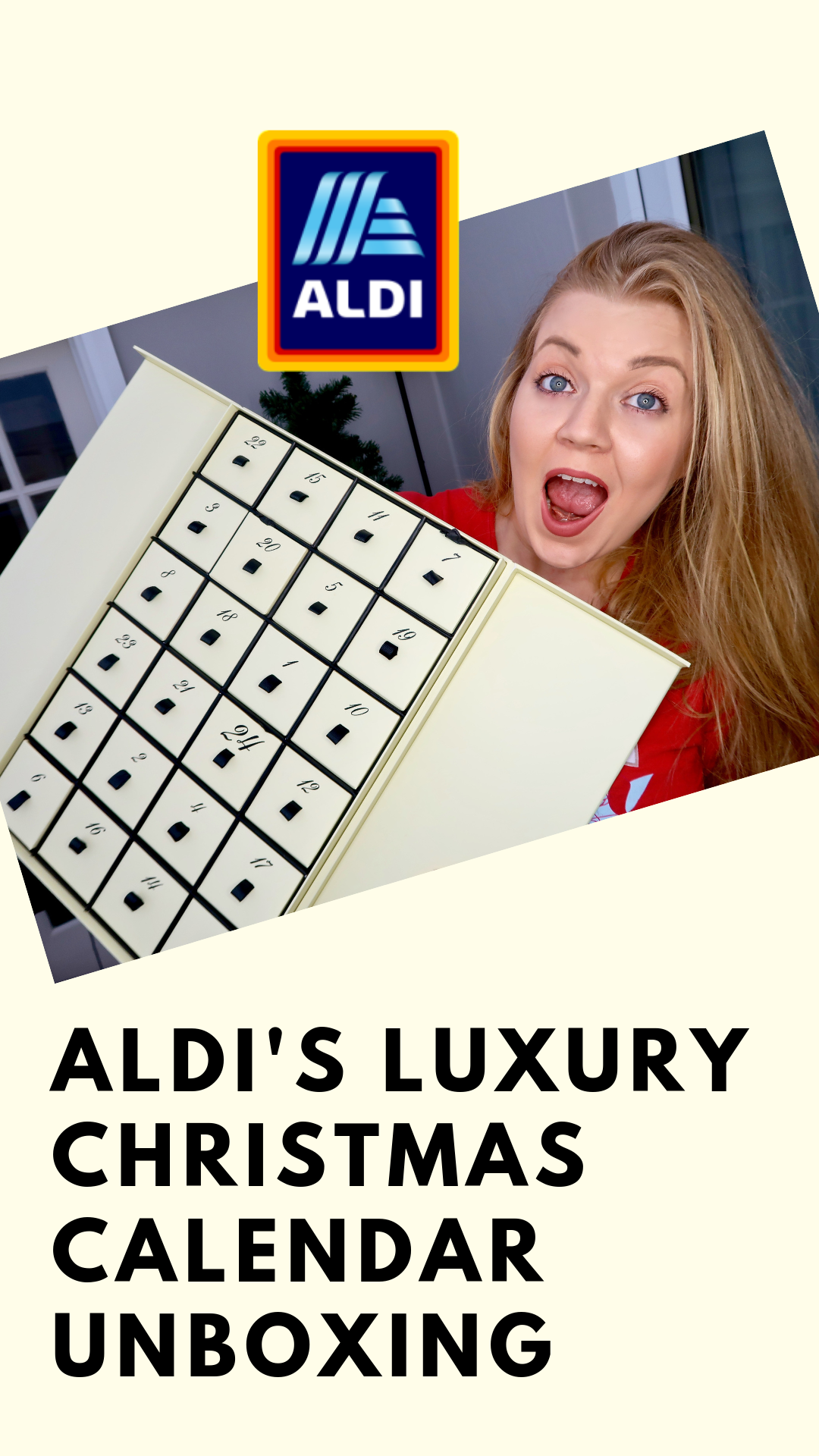 Aldi 'Jo Malone Dupe' Luxury Countdown To Christmas Advent Calendar 7