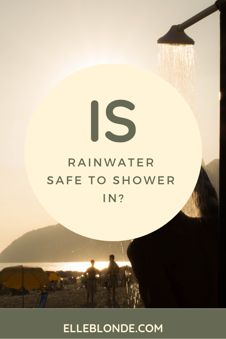 Is rainwater safe to shower in? We find out if you can create an eco haven in your home and use rainwater | Home interior tips | Elle Blonde Luxury Lifestyle Destination Blog