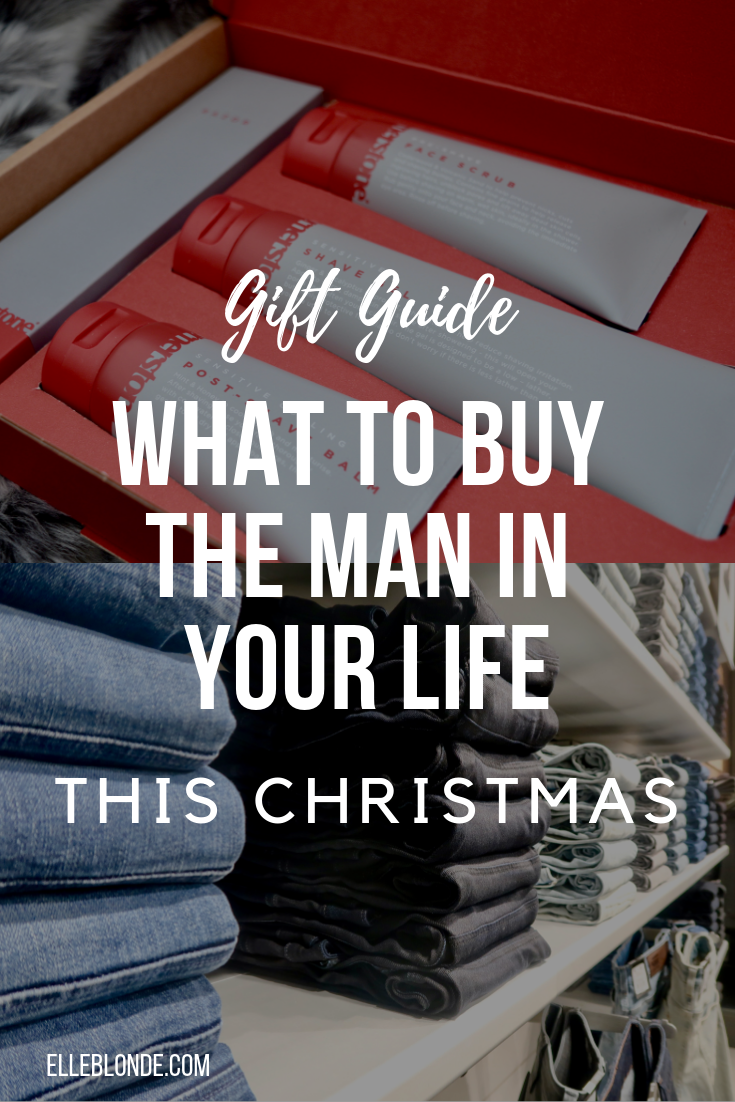 Gifts For Men | Gift Guide | Elle Blonde Luxury Lifestyle Destination Blog