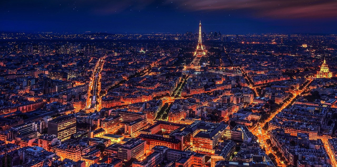 Visit Paris, the City of Light! 2