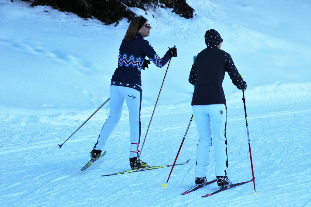 Top 10 ski destinations for beginners   Cross country skiing in the winter   Travel Guide   Elle Blonde Luxury Lifestyle Destination Blog
