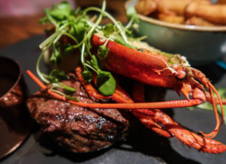 Surf & Turf | We headed to Discover the Palm in Sunderland to check out the menu at Wildernest. A Bar & Lobster cabin, here's the full food review | Elle Blonde Luxury Lifestyle Destination Blog
