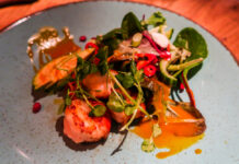 King Prawn Salad | Discover the Palm is located in Sunderland, the 5 venue destination is ideal for the perfect night out whilst staying in one place. We headed to Liberty Brown the Steakhouse and Burger kitchen which is the original destination to check out their food | Food Review | Elle Blonde Luxury Lifestyle Destination Blog
